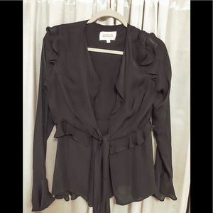Stone Cold Fox Tops - Stone Cold Fox Connery Silk Blouse size 2
